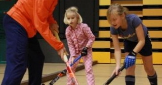 Zaalhockey clinicdag
